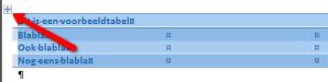 Word tabel 1