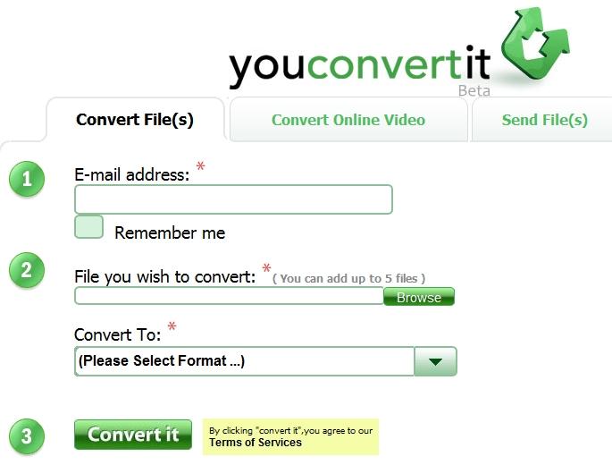 موقع رائع جد اYoUcOnVeRtIt للتحويل بين الأنساق المختلفة