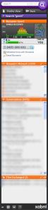 Het Xobnipaneel in Outlook