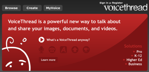 Voicethread: een multi-comment systeem