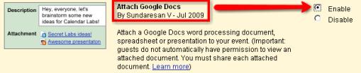 Google Docs toevoegen aan Calendar ...